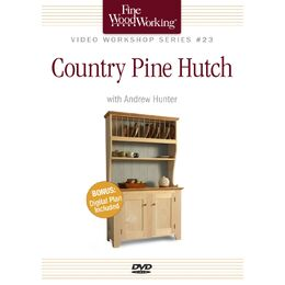 Country Pine Hutch (DVD)