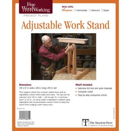 Adjustable Work Stand Plan