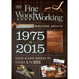 Fine Woodworking Magazine Archive 1975-2015 - DVD