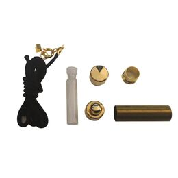 Perfume Holder Necklace Kit with Clasp - Gold