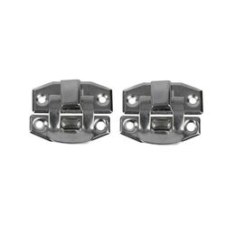 Box Snap Closure - Chrome (2 Pack)
