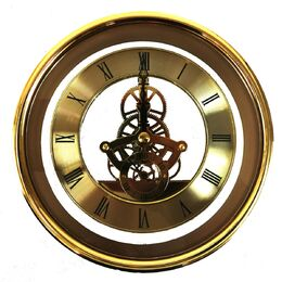 Mustair 150mm Skeleton Clock