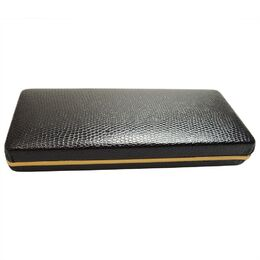 Deluxe Pressed Metal Velvet Pen Case