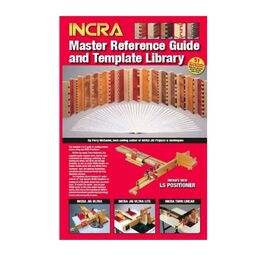 INCRA M-MTL2 METRIC Master Reference Guide & 26-piece Template Library