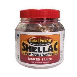 Shellac Flakes - Makes 1 Litre