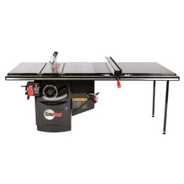 "SawStop ICS52TGLIDE Industrial Cabinet Saw with 52"" T-Glide Rail"