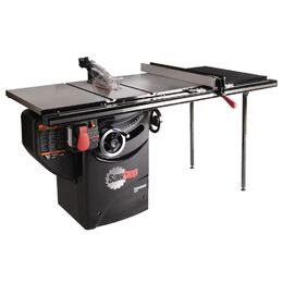 "SawStop PCS36TGLIDE Professional Cabinet Saw with 36"" T-Glide Rail"