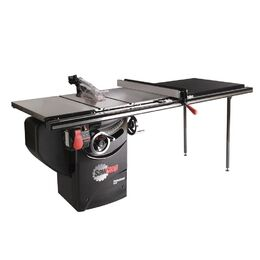 "SawStop PCS52TGLIDE Professional Cabinet Saw with 52"" T-Glide Rail"