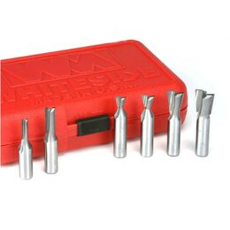 "INCRA 610-WHITESIDE 6-Piece Metric Joinery Bit Set (1/2"" Shank)"