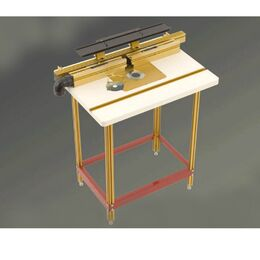 "INCRA Router Table Combo #4 Stand Alone Wonder Fence with 24"" x 32"" Center Mount Router Table and Stand"