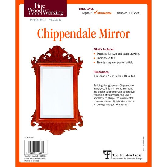 Chippendale Mirror Plan