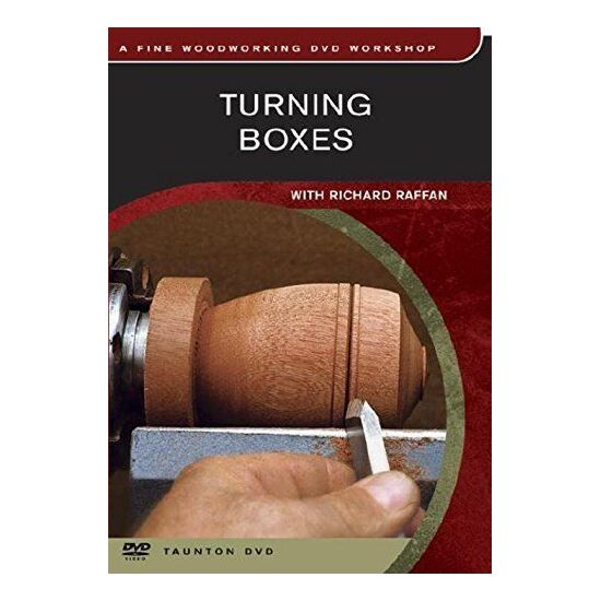 DVD - Turning Boxes with Richard Raffan
