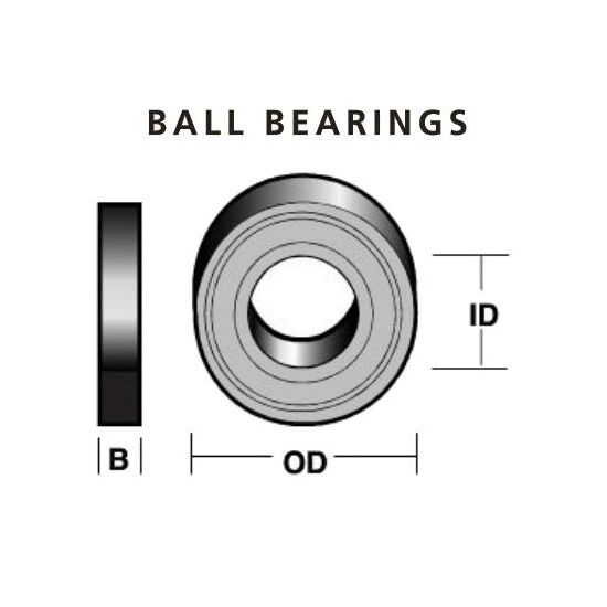 Carbitool TB 9 Ball Bearing