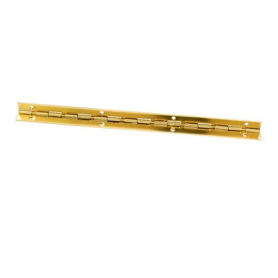 "Highpoint 105 degree brass Stop Hinge 8"" x 7/16"""