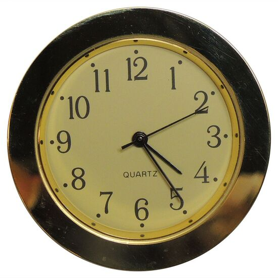 38mm Clock Fit Ups (Ivory Face, Arabic)