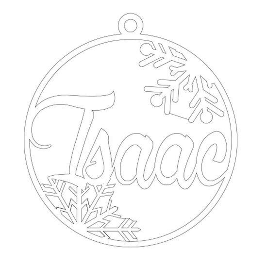 Christmas Ornament - Isaac