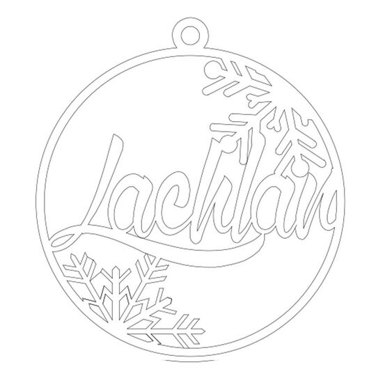 Christmas Ornament - Lachlan