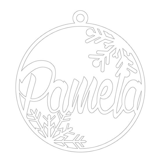 Christmas Ornament - Pamela