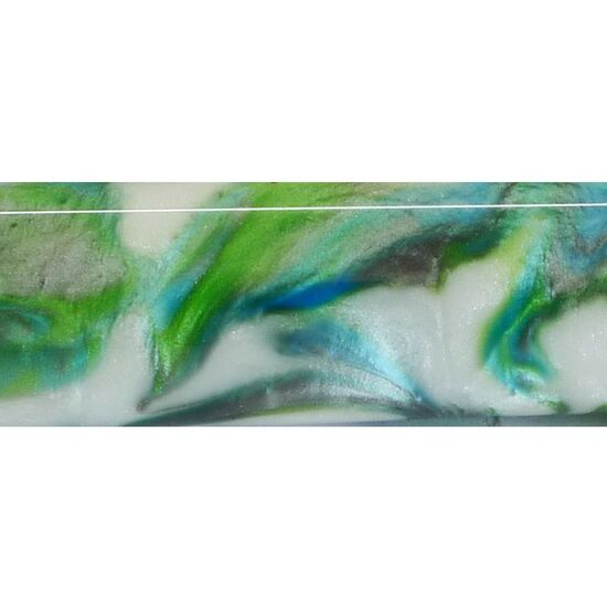 Ocean Swirl -Poly Resin Pen Blank