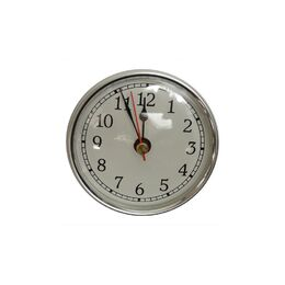 100mm Clock Fit Ups(Type:Chrome / Arabic Numbers)