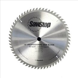 Sawstop CB104184 Standard 60 Tooth Replacement Blade - 10""